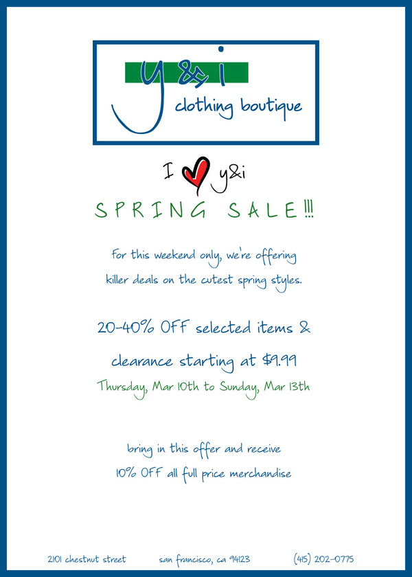 Spring Sale 2011 Bay copy